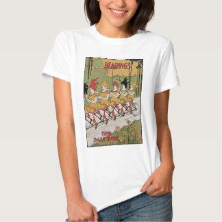 Vintage Art Nouveau, Bearings, Women on a Bicycle Shirt