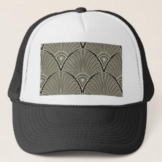 vintage,art nouveau,beige,grey,art deco, french trucker hat