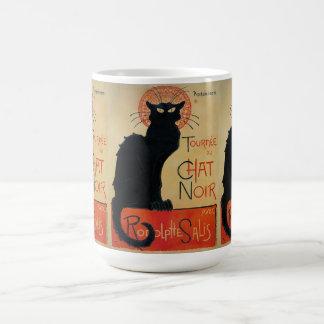 Vintage Art Nouveau Chat Noir Coffee Mug