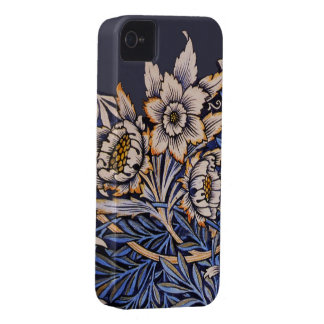 Vintage Art Nouveau Floral iPhone4 Case Mate
