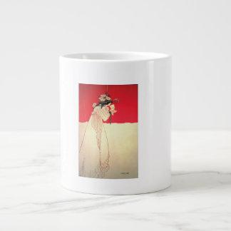 Vintage Art Nouveau ~ Isolde by Beardsley Large Coffee Mug