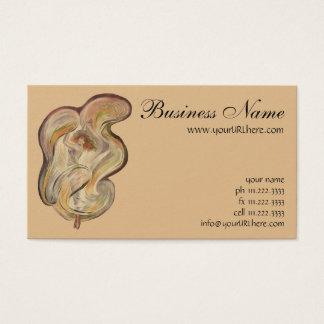 Vintage Art Nouveau, La Loie Fuller Modern Dancer Business Card