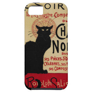 Vintage Art Nouveau Le Chat Noir iPhone 5 Cases