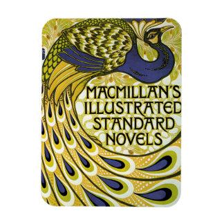 Vintage Art Nouveau, Macmillan's Peacock Feather Rectangular Photo Magnet