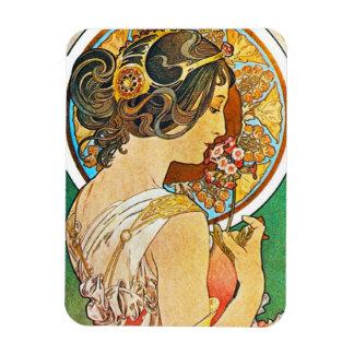 Vintage Art Nouveau Magnet