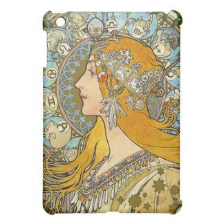 Vintage Art Nouveau - Mucha Zodiac i iPad Mini Case