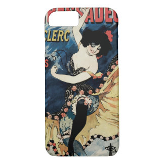 Vintage Art Nouveau, Spanish Flamenco Dancer iPhone 8/7 Case