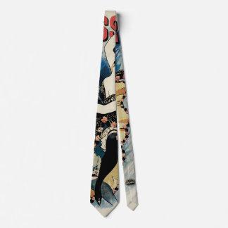 Vintage Art Nouveau, Spanish Flamenco Dancer Tie
