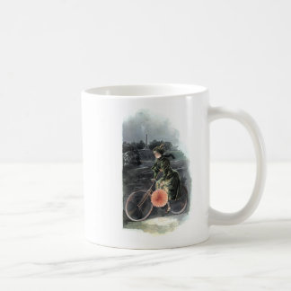 Vintage Art / Old Fashioned Bicycle - Central Park Coffee Mug