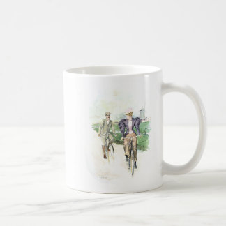 Vintage Art / Old Fashioned Bicycle - Holland Coffee Mug