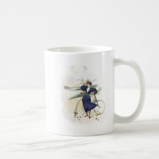 Vintage Art / Old Fashioned Bicycle - New York Coffee Mug