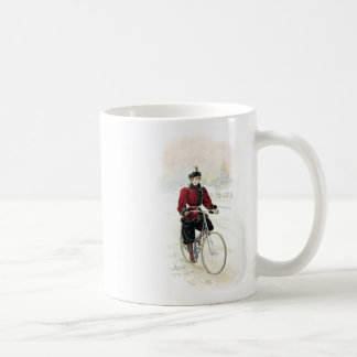 Vintage Art / Old Fashioned Bicycle - Russia Coffee Mug
