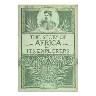 "Vintage Art Poster ""The Story of Africa"""