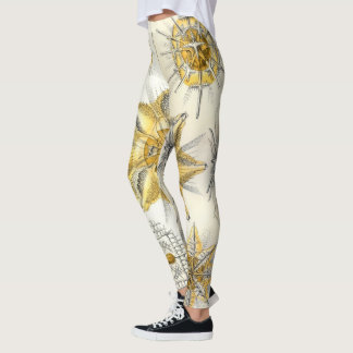 Vintage Art Print Leggings