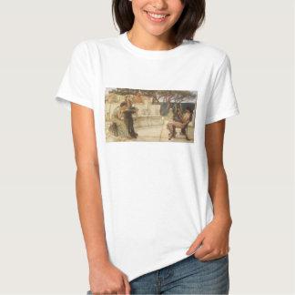Vintage Art, Sappho and Alcaeus by Alma Tadema T-shirt