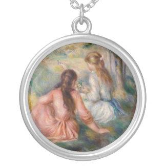 Vintage Art Sister Necklace