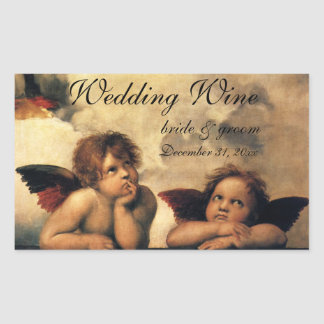 Vintage Art, Sistine Madonna Angels by Raphael