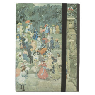 Vintage Art, The Mall, Central Park by Prendergast iPad Air Cases