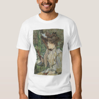 Vintage Art, Woman with Gloves by Toulouse Lautrec Shirts