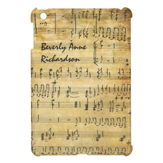 Vintage Arts Sheet Music iPad Mini Case