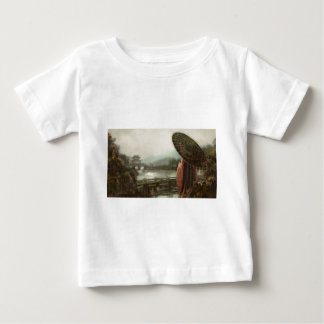 Vintage Asian Woman in Traditional Attire Baby T-Shirt