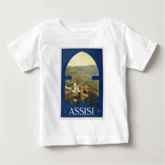 Vintage Assisi Travel Baby T-Shirt