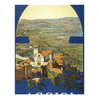 Vintage Assisi Travel Letterhead