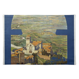Vintage Assisi Travel Placemat