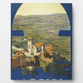 Vintage Assisi Travel Plaque