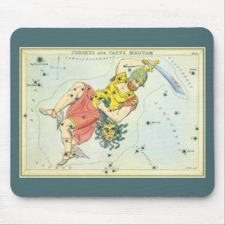 Vintage Astonomy, Perseus and Caput Medusa Mouse Pad