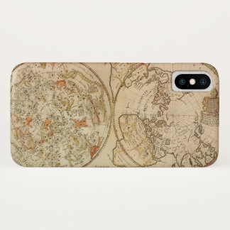 Vintage Astronomy, Celestial Planisphere Map Case-Mate iPhone Case
