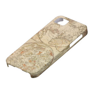 Vintage Astronomy, Celestial Planisphere Map iPhone 5 Covers