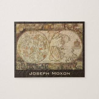Vintage Astronomy, Celestial Planisphere Map Jigsaw Puzzle
