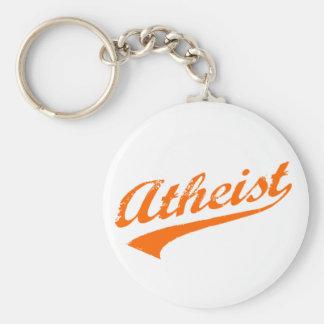 Vintage Atheist Basic Round Button Keychain
