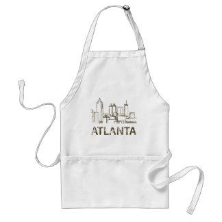 Vintage Atlanta Standard Apron