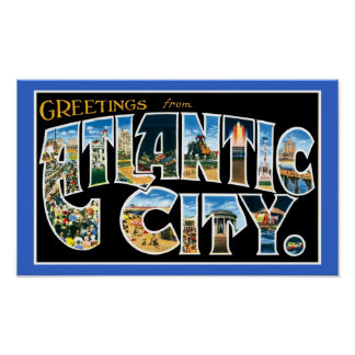 vintage atlantic city poster