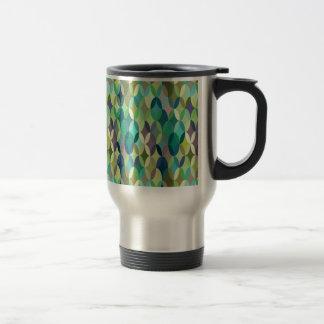 Vintage attractive colorful coffee mug