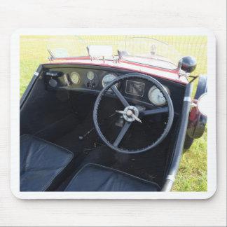 Vintage Austin Seven Dashboard Mouse Pad