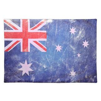 Vintage Australian Flag Placemat