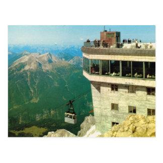 Vintage Austria, Zugspitz Postcard