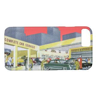 Vintage Auto Mechanics Complete Car Service Garage iPhone 7 Case
