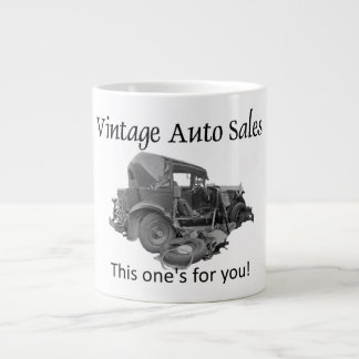 Vintage Auto Sales Large Coffee Mug