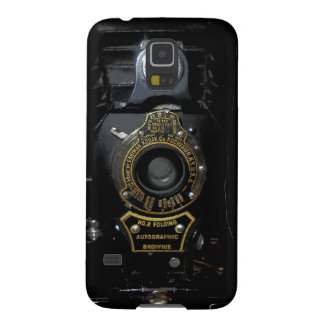VINTAGE AUTOGRAPHIC BROWNIE FOLDING CAMERA GALAXY S5 CASES