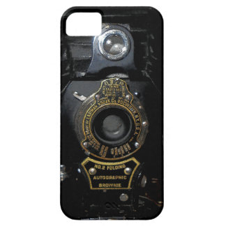 VINTAGE AUTOGRAPHIC BROWNIE FOLDING CAMERA CASE FOR THE iPhone 5