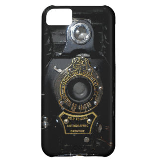 VINTAGE AUTOGRAPHIC BROWNIE FOLDING CAMERA COVER FOR iPhone 5C
