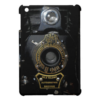 VINTAGE AUTOGRAPHIC BROWNIE FOLDING CAMERA COVER FOR THE iPad MINI