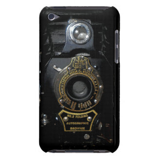 VINTAGE AUTOGRAPHIC BROWNIE FOLDING CAMERA iPod TOUCH CASES