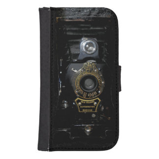 VINTAGE AUTOGRAPHIC BROWNIE FOLDING CAMERA SAMSUNG S4 WALLET CASE