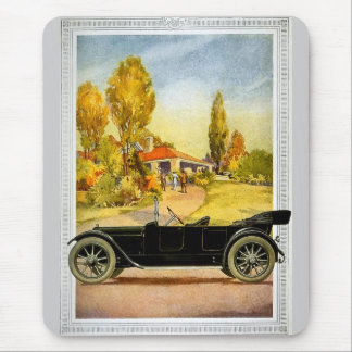 Vintage Automobile Advertising Mouse Pad