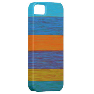 Vintage autumn stripes case for the iPhone 5